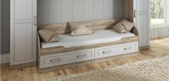 Детская кровать с 2-мя ящиками «Прованс» ТД-223.12.01
